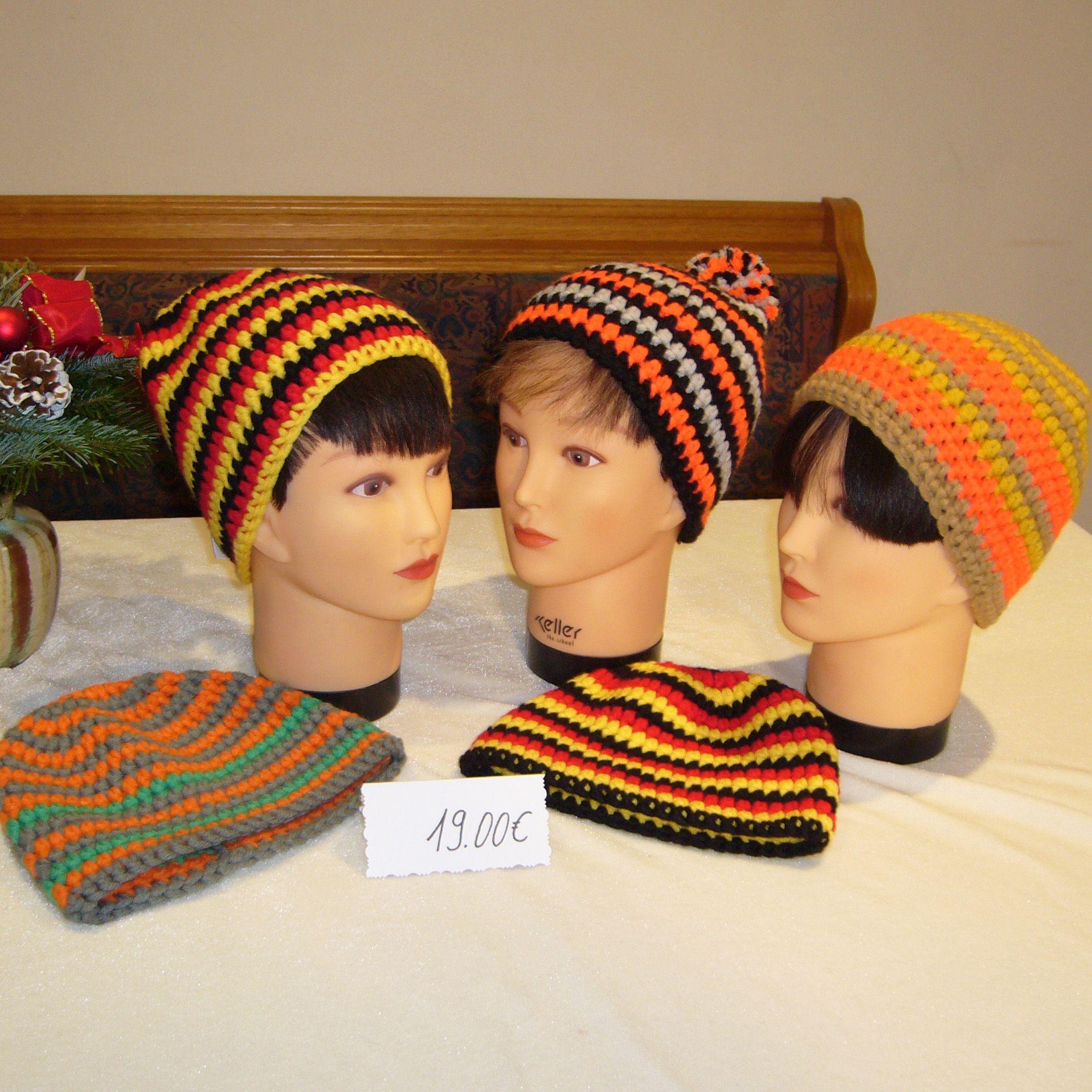 Myboshi Mütze Orange Gelb Braun Für Kinder Nellys Bastelecke