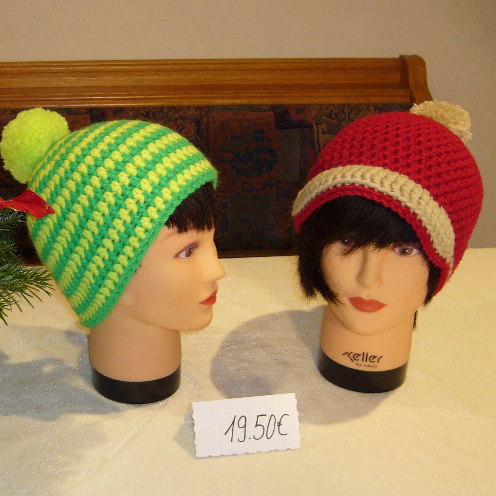 Myboshi Mütze Grün Gelb Für Kinder Nellys Bastelecke