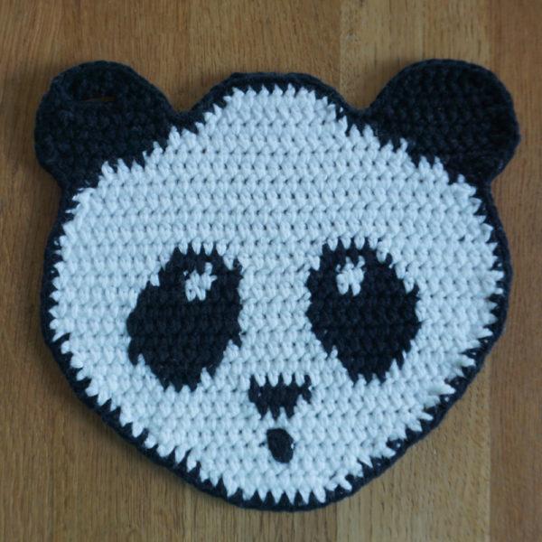 Topflappen Panda